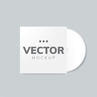 Cd cover design mockup
