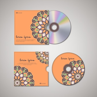 Cd cover oriental template.