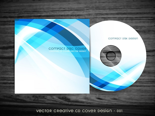 Cd cover  with space for your text