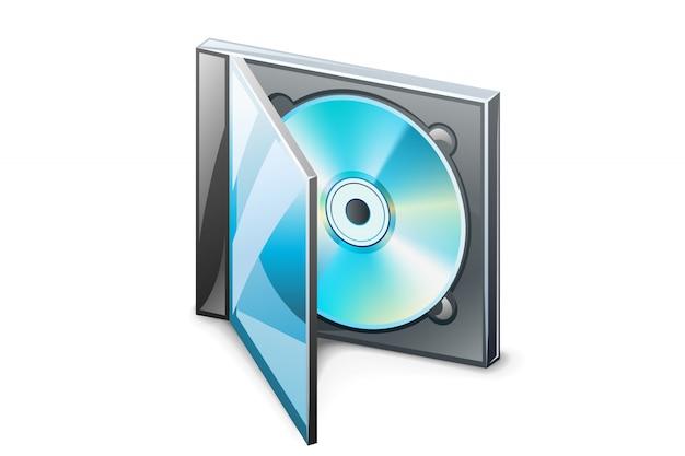 Компакт-диск в футляре
