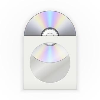 封筒の中のcdディスク