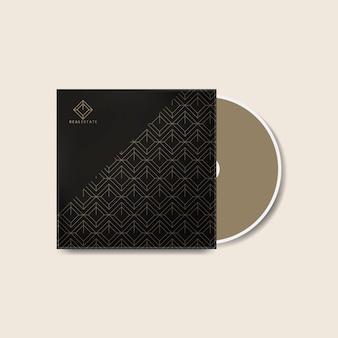 Корпоративный шаблон оформления обложки cd