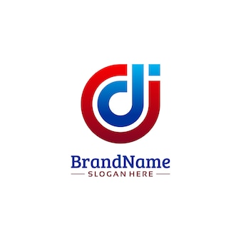 Cdi business logo template