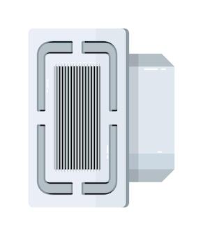 Ceiling cassette air conditioner electric equipment