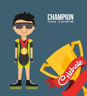 Celebrate champion