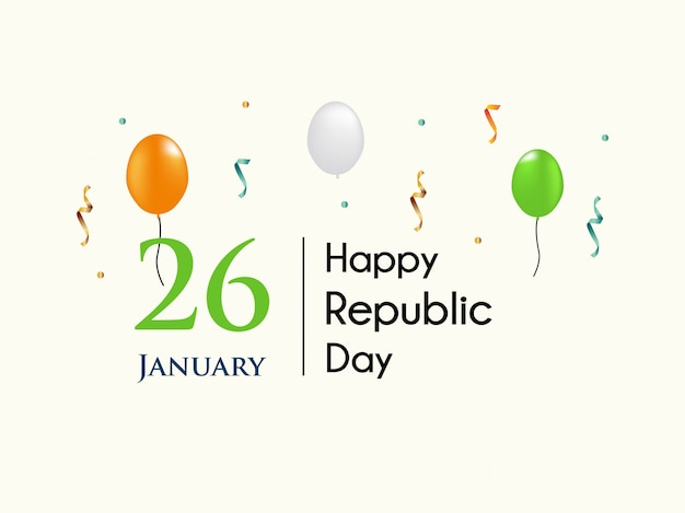 Celebrate indian 26th republic day