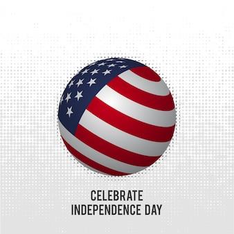Celebrating independence day usa
