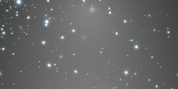 Celebration abstract background of light and silver glittering dust particles and stars