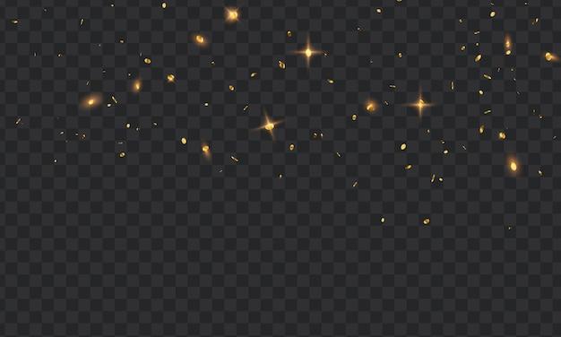 紙吹雪ゴールドリボンとお祝いの背景テンプレート。豪華な挨拶リッチカード。