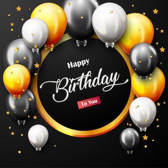 Celebration happy birthday