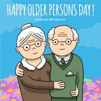 celebration of the elderly background