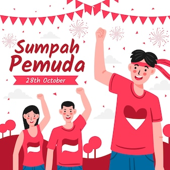 Celebration of sumpah pemuda
