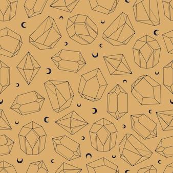 천상의 신비한 원활한 패턴
