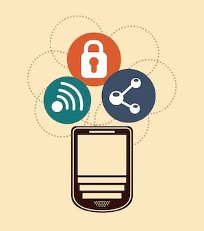 携帯電話 Premiumベクター