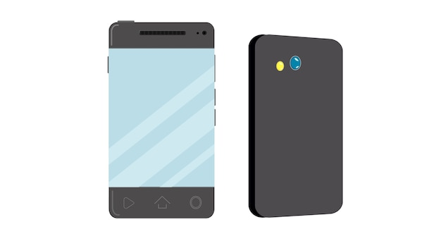 Cellphone isolated vector illustration