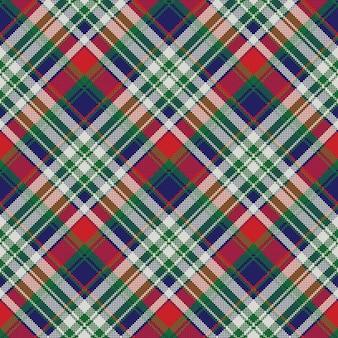 Celt pattern check fabric texture