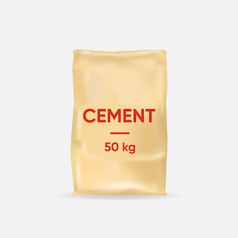 Cement bag template thick paper bag 50 kg for construction
