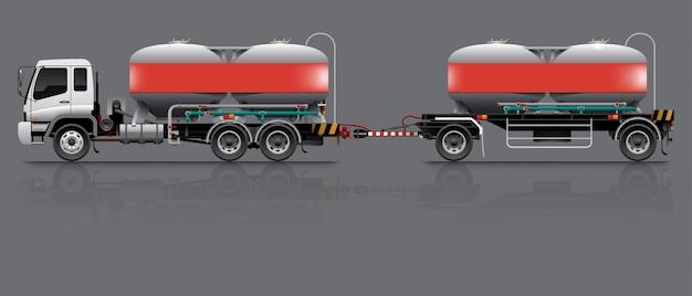 Cement silo trailer