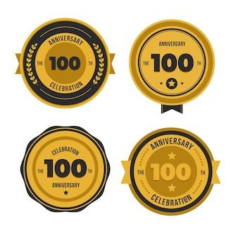 100 주년 기념 라벨 컬렉션