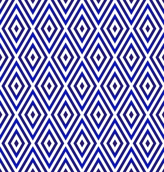 Ceramic rhombus pattern