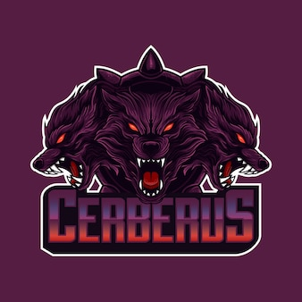 Логотип талисмана cerberus head