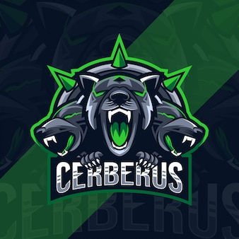 Цербер талисман логотип киберспорт