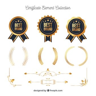 Certificate element collection