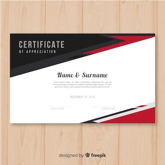 Certificate of appreciatio