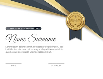 Certificate border vectors photos and psd files free download certificate template yadclub Gallery