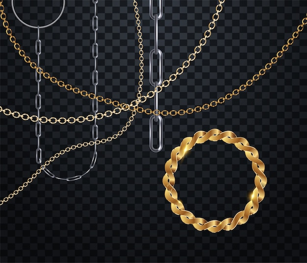 Chain for fabric design