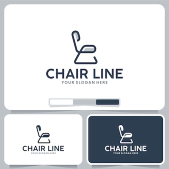 Chair furniture logo design inspiration