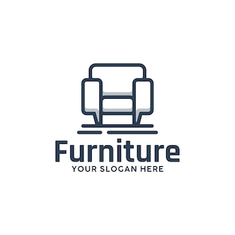 Chair furniture template , logo design inspiration