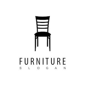 家具会社の椅子のロゴ