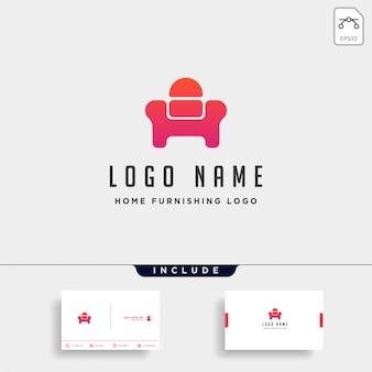 Стул с логотипом