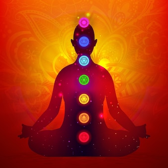Chakras illustrated design