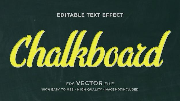 Chalk   editable text effect