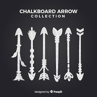 Chalkboard arrow collection