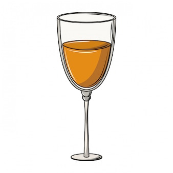 Champagne glass cup
