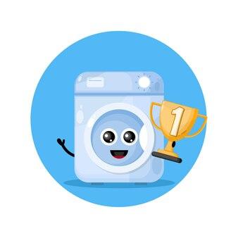 Чемпион кубка стиральная машина дизайн персонажа милый