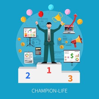 Концепция жизни чемпиона