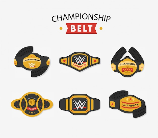 Championship belt collection