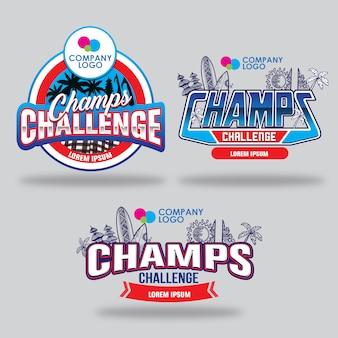 Champs challenge logos