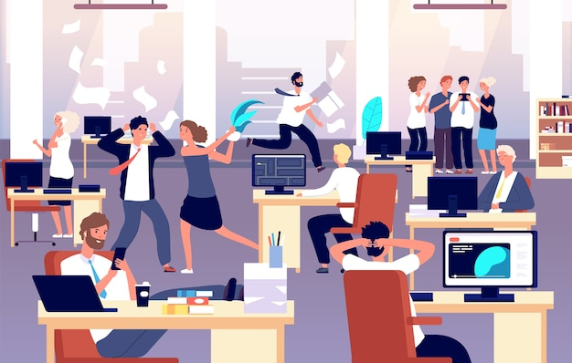 Chaos in workplace