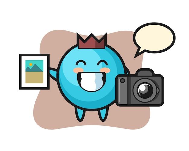写真家としてのキャラクターブルーベリー