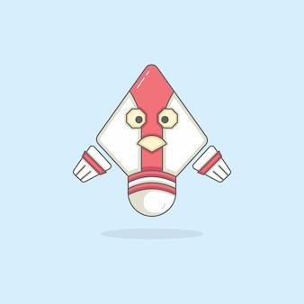 Character cartoon illustration design