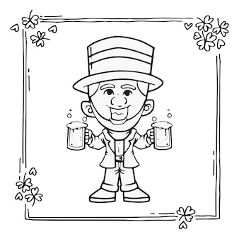 キャラクター漫画聖パトリック