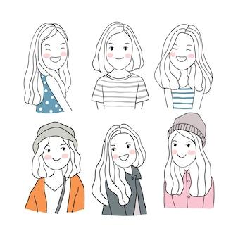 かわいい女の子キャラクターコレクション