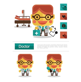 Character design doctor career