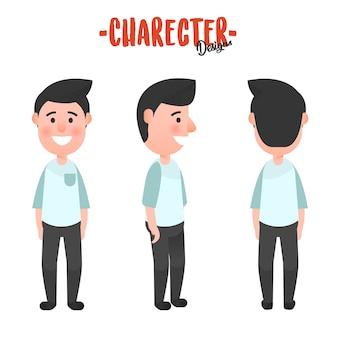 Character design man