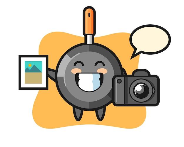 写真家としてのキャラクターフライパン